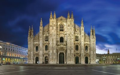 We are now in Milan Cathedral in Italy