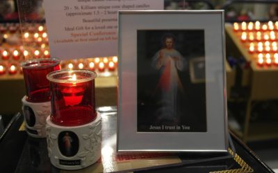 Natural Flame At Divine Mercy Conference 2014
