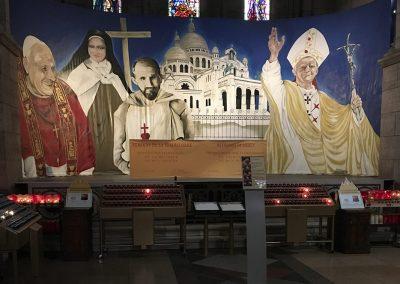 La Basilique du Sacré Cœur de Montmartre, Paris, France